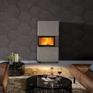 Moderne Kamin Austroflam 16