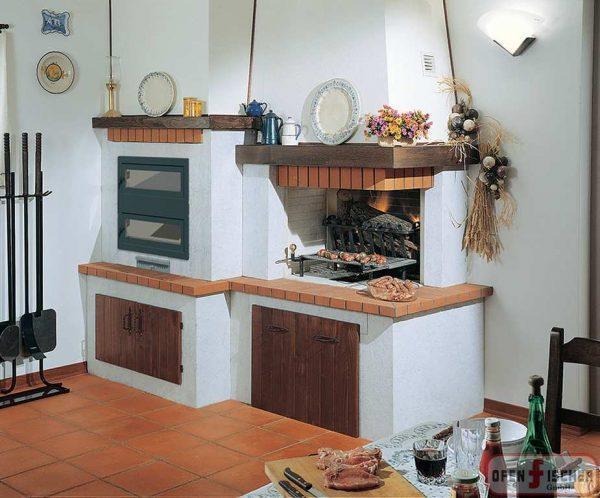 Traditionelle Kamin Bertucci 10