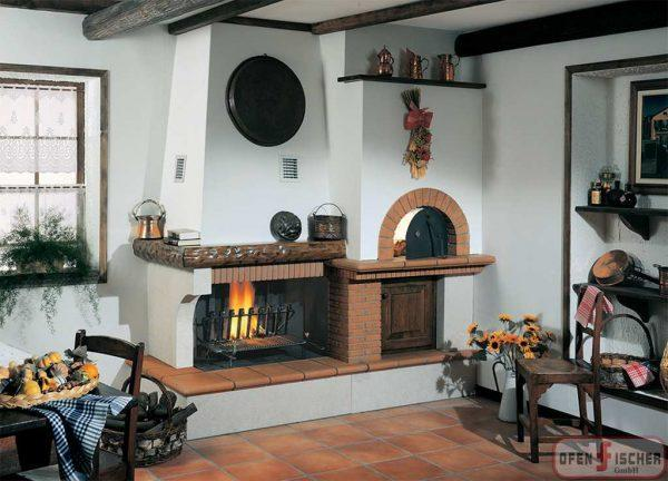Traditionelle Kamin Bertucci 16